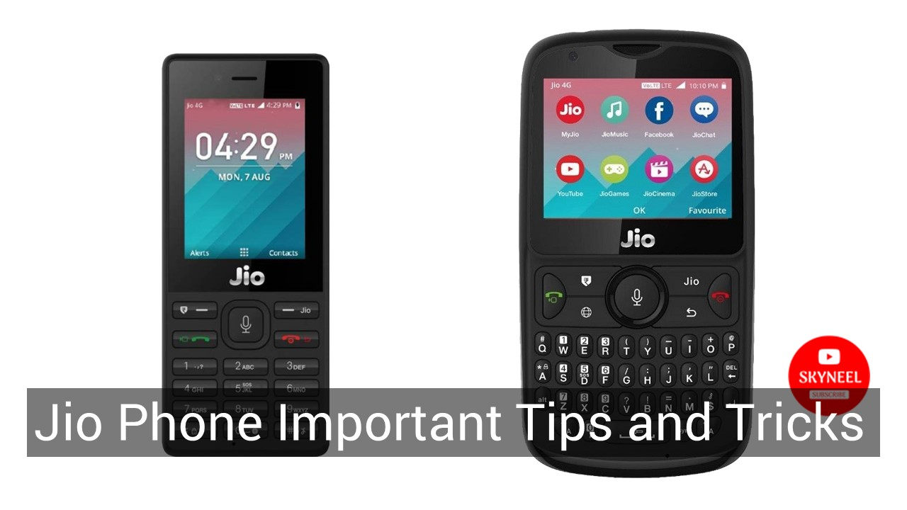 jio phone tips and tricks