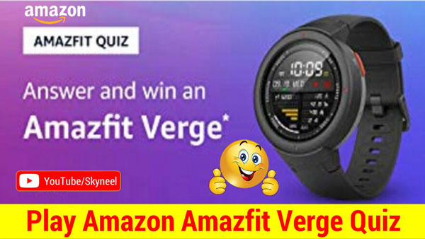 Amazon Amazfit Quiz - Amazfit Verge Smaetwatch