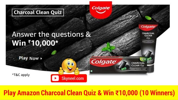 Amazon Charcoal Clean Quiz Answers