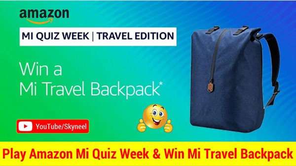 Amazon MI Quiz Week Answer