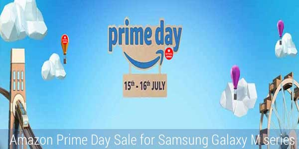Amazon Prime Day Sale for Samsung Galaxy M series