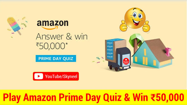 Amazon Prime Quiz Week Answers