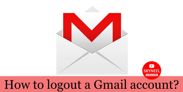 logout a Gmail account