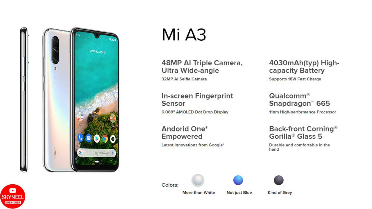 Mi A3 specification