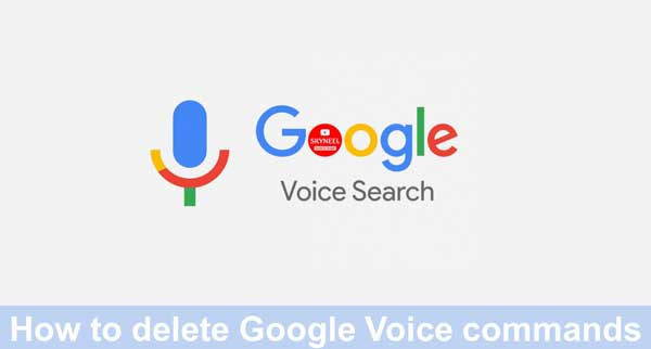 delete Google Voice commands